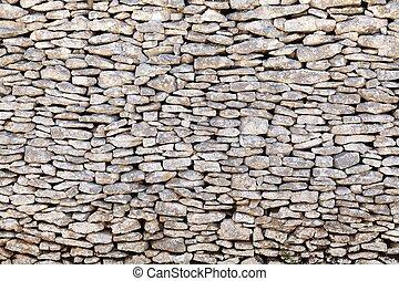 gammal, stena väggen