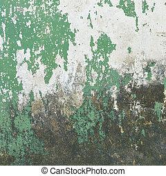 gammal, vägg, struktur, konkret, bakgrund, grunge