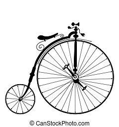 gammel cykel