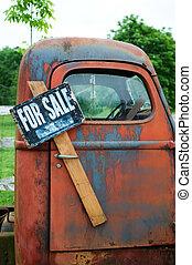 gammel lastbil, til salg