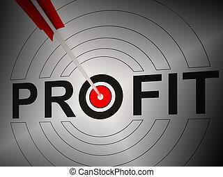 ganancia, exposiciones, crecimiento financiero, ganancia, renta
