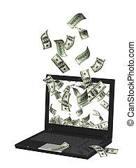 ganancias, en, internet