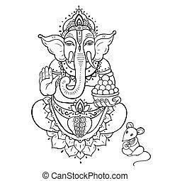 Ganapati. Lord Ganesha