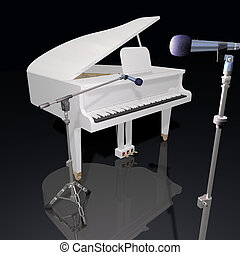 Image result for open mic night graphic piano