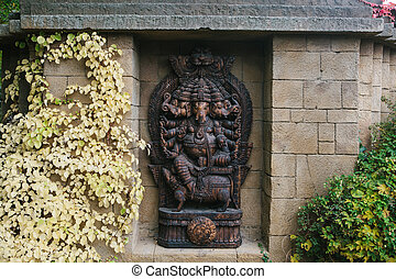 Ganesa or statue of god elephant in Hinduism. Statue or...
