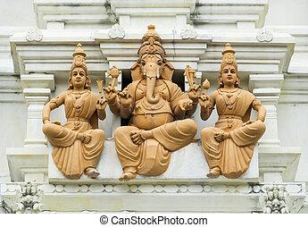 ganesh , θεός , ελέφαντας