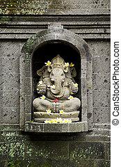 ganesh hindu god in bali indonesia