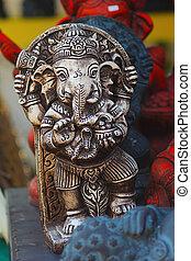 ganesh hindu god statue in bali tha