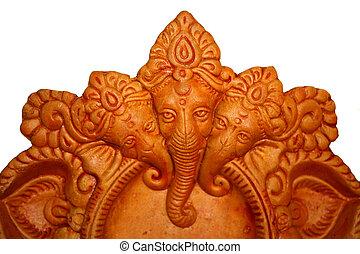 Ganesha Art Background
