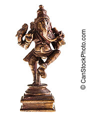 Ganesha figurine - a statue of the indian god Ganesha...