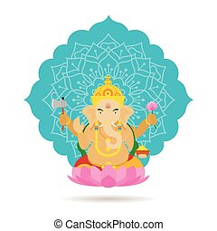 Ganesha Hindu God or Deity