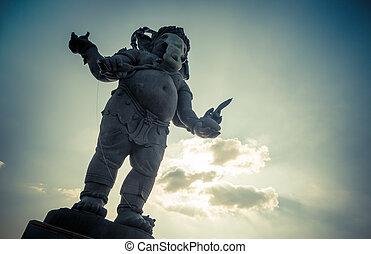 Ganesha, Hindu God statue