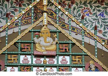 Ganesha Idol at City Palace