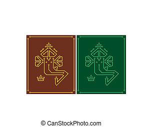 Ganesha Pcb Design Vector Art