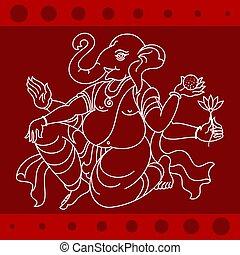 Ganesha The Elephant God Of Hindu Religion