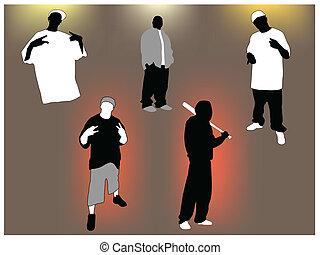 gangsta, állhatatos