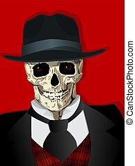 gangster, capriccio, cranio