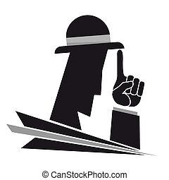 Gangster illustration - Creative design of gangster...