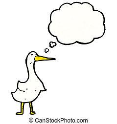 ganso, caricatura