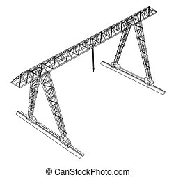 Gantry Crane Stock Photos And Images 4 034 Gantry Crane