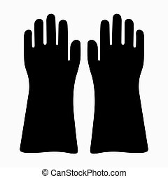 gants, haute tension, isolant