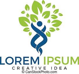 ganzheitlichkeit, wohlfühlen, gesundheit, fitness, logo, logo., design.