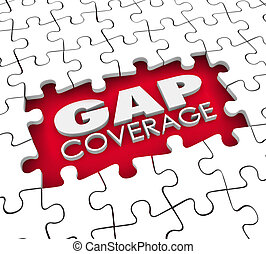 Gap Coverage Insurance Puzzle Policy Hole Supplemental...