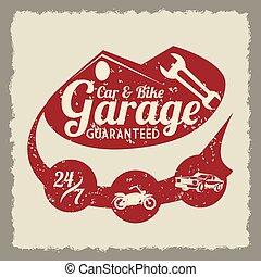 garázs, tervezés