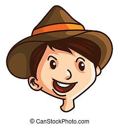 garçon, chapeau