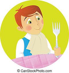 garçon, dîneur