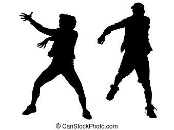 garçon, danseur