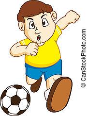 garçon, football
