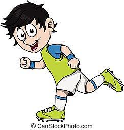 garçon, formation, football