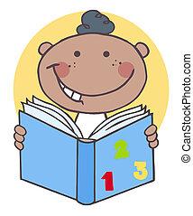 garçon, livre, lecture