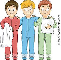 garçons, sleepwear