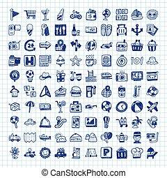 garabato, iconos de viajar