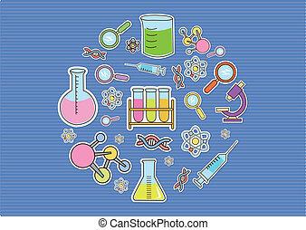 garabato, papel pintado, tecnología, bio