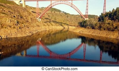 Garabit Viaduct in France - The Garabit Viaduct (Viaduc de...