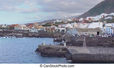 Garachico in Tenerife - Garachico - small town on the coast...