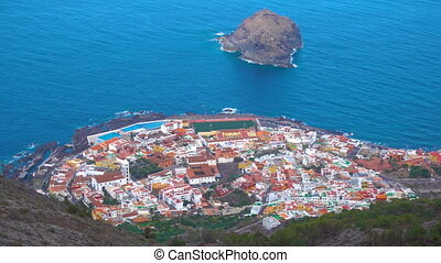 Garachico in Tenerife - Garachico - small town on the coast...