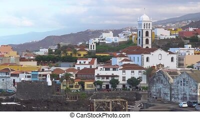 Garachico - small town on the coast of Tenerife island, The...