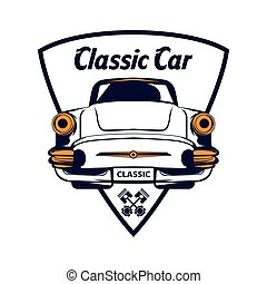 garage, automobile, classico