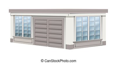 garage, design, architektur