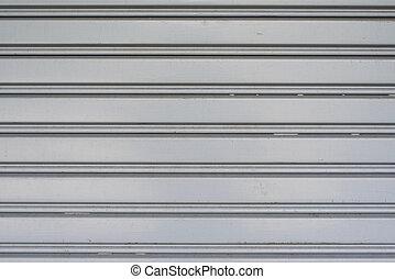 garage deur, metaal, achtergrond