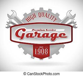 garage, disegno