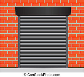 Garage doors - Metal gates for warehouse, garage and other ...