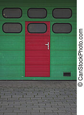 garage, entrée