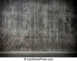 garage, grunge, hintergrund