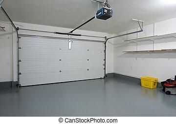 garage, sauber