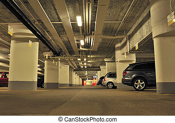 garage, souterrain